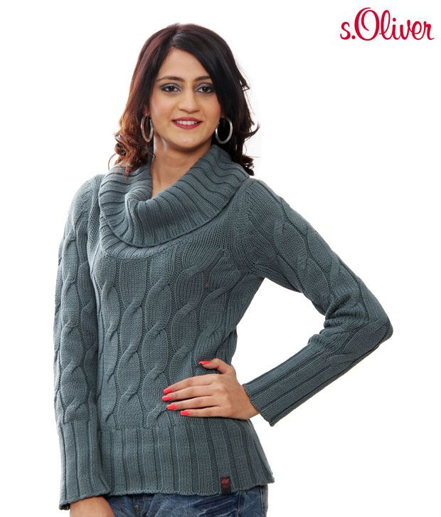 S.Oliver Classic Grey Sweater (41.010.61.8272)