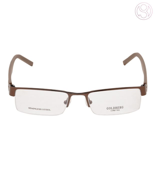 Goldberg Light Brown Optical Frame