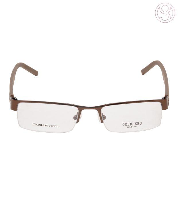 Goldberg Light Brown Optical Frame