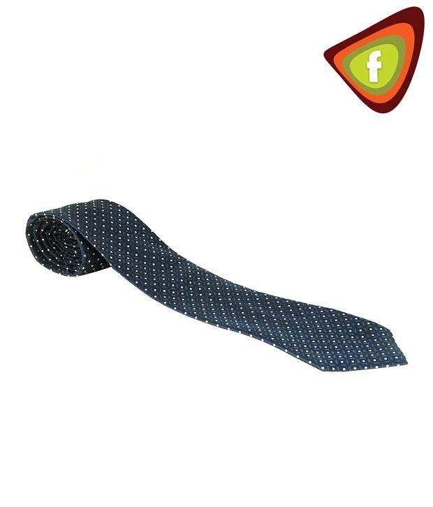 F-Ties Elegant Dark Blue Designer Tie