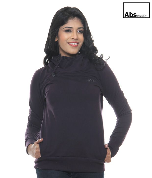 Abs Burgundy Sweat Shirt-Abwg11107By