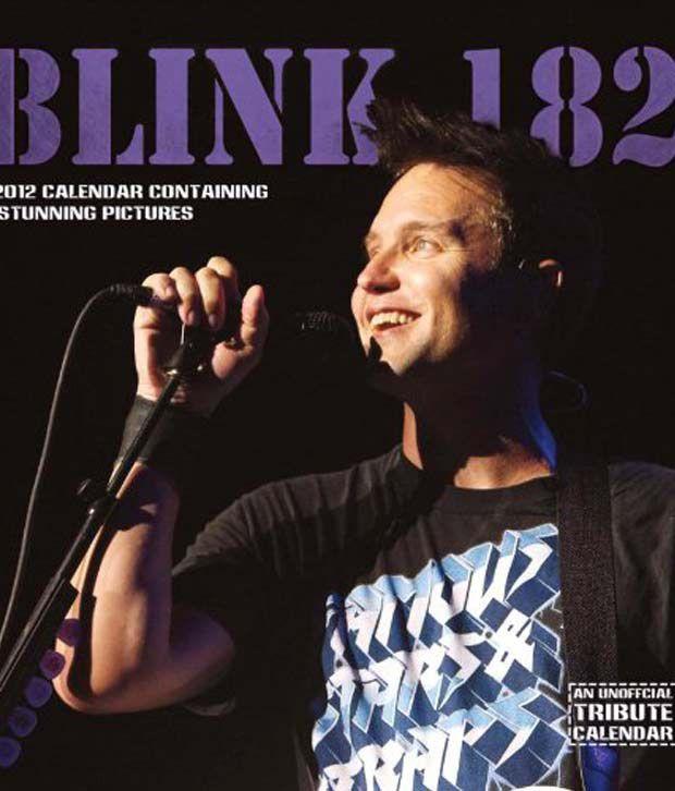 Blink 182 Music 2012 Calendar