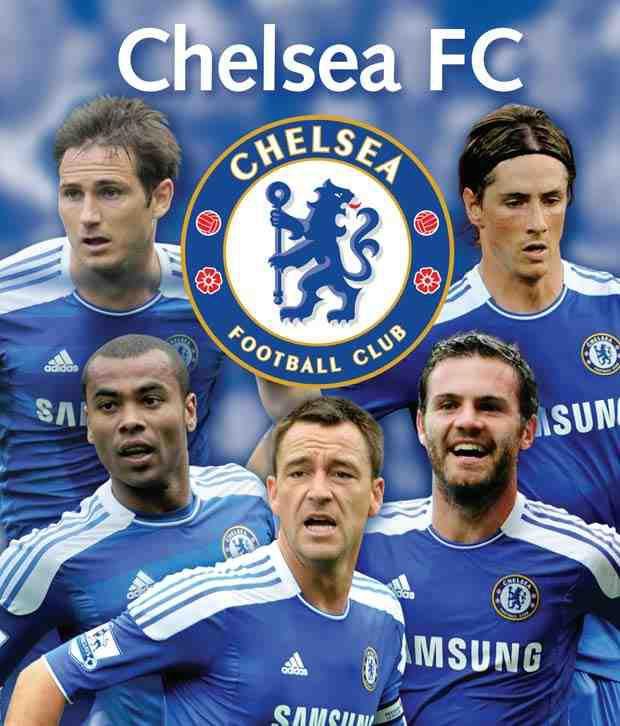 Chelsea Fc 2012 Football Calendar