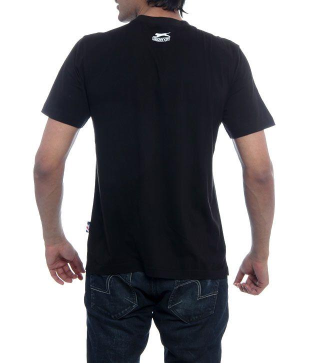 d4745e50e4 Slazenger Black Panther T-Shirt-Ssmt003-Zed Black - Buy Slazenger ...