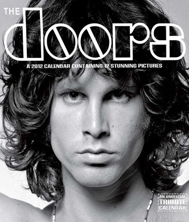 The Doors Music 2012 Calendar