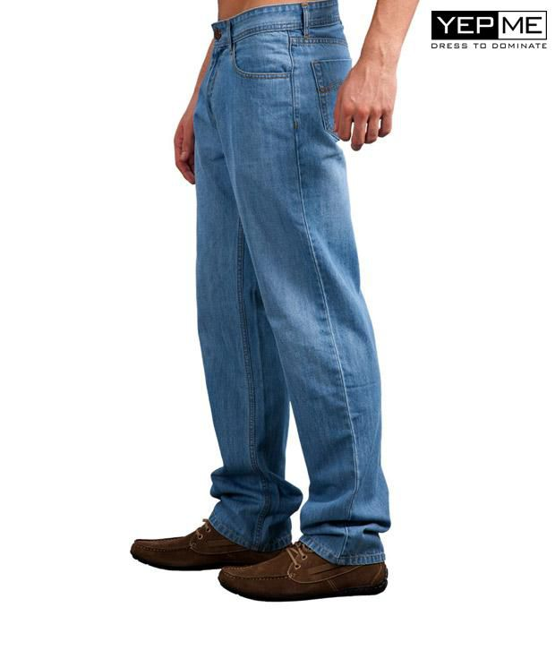 Yepme Comfort Fit Light Blue Jeans YPMJEAN0001