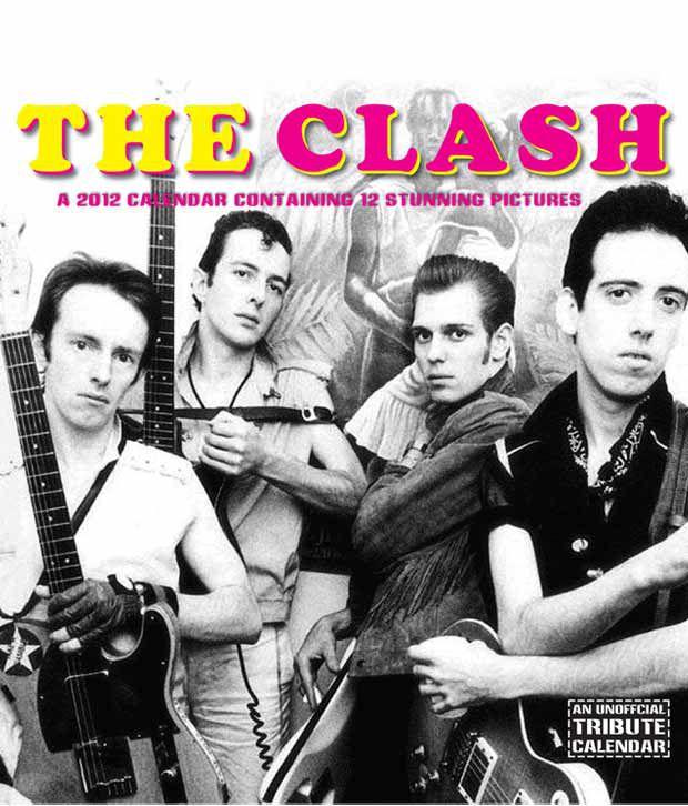 The Clash Music 2012 Calendar