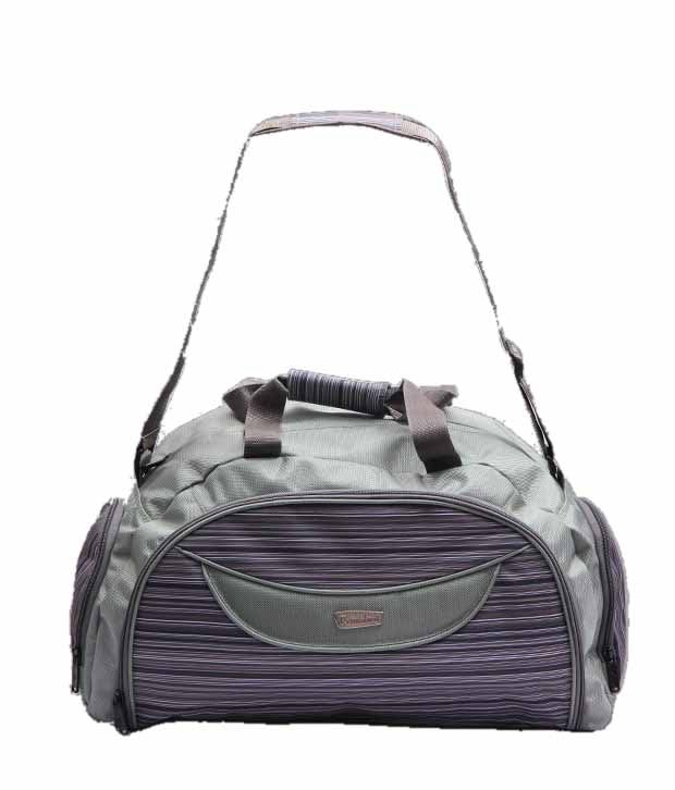 President Cool Green and Grey Duffle Bag
