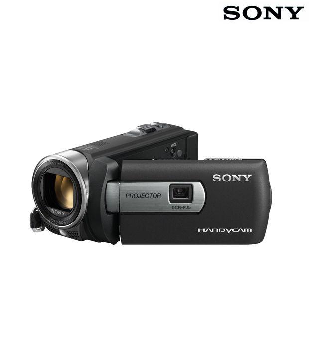 Sony DCR-PJ5E Handycam (Black)