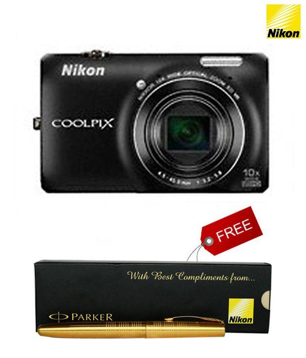 Nikon Coolpix S6300 16MP Digital Camera