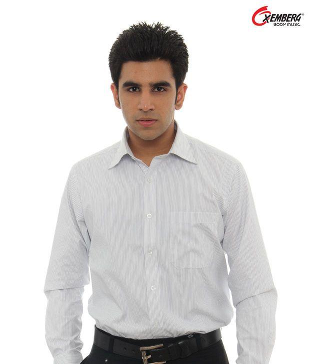 Oxemberg White Shirt-SH-85858-2