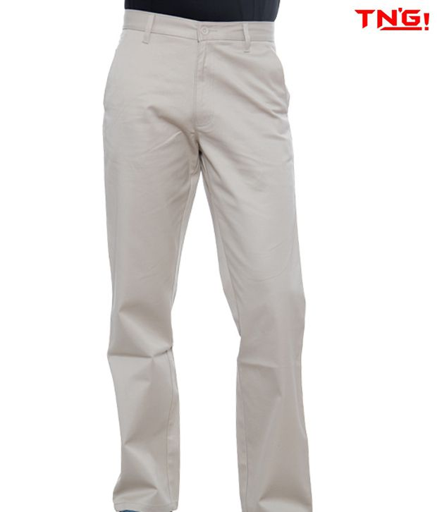 TN'G Ivory Trousers-TJGN-7758B-IV