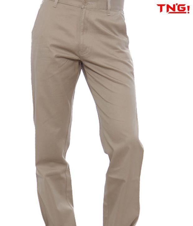 TN'G Khakhi Trousers- TNG-TJGN-7776-KH
