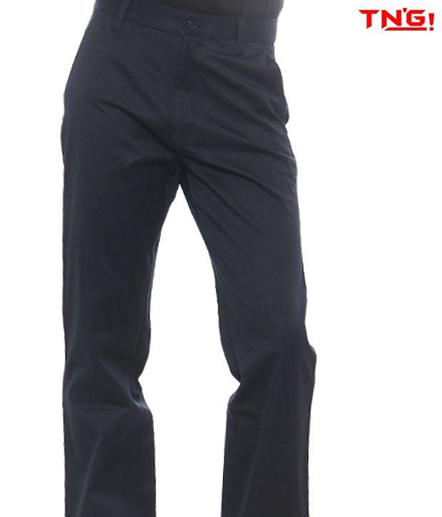 TN'G Navy-Blue Trousers-TJGN-7758B-NVBL
