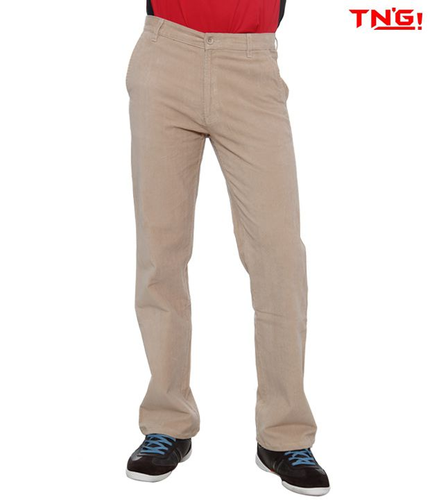 Tn'G Corduroy Trousers-Tjgn-7775-Iv