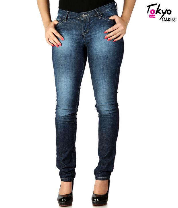 Tokyo Talkies Blue Denim Jeans