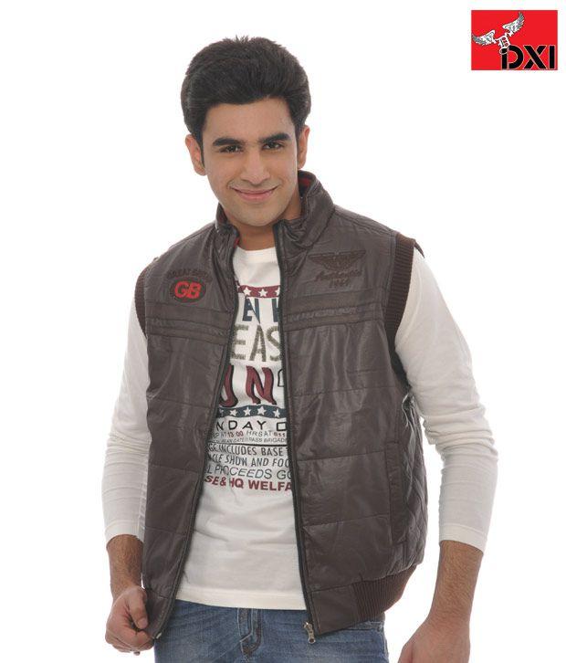 DXI Winter Wear Jacket For Men- X1935 Brown