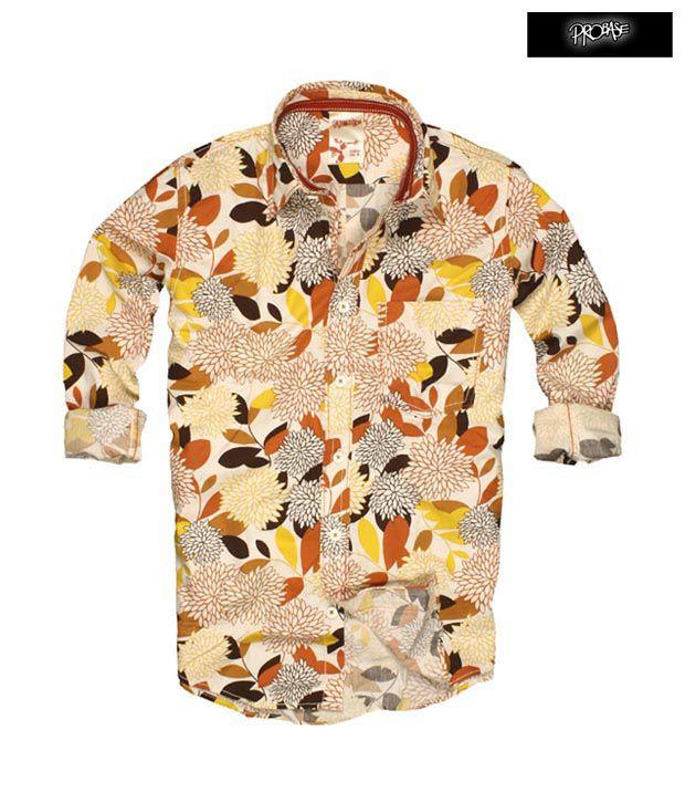 PROBASE Shirt 10PSH22819-OR-LS