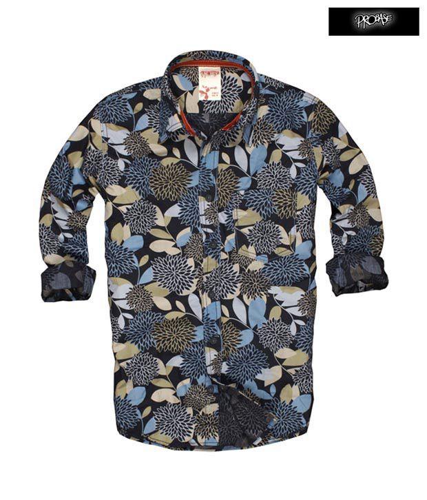 PROBASE Shirt 10PSH22820-NV-LS