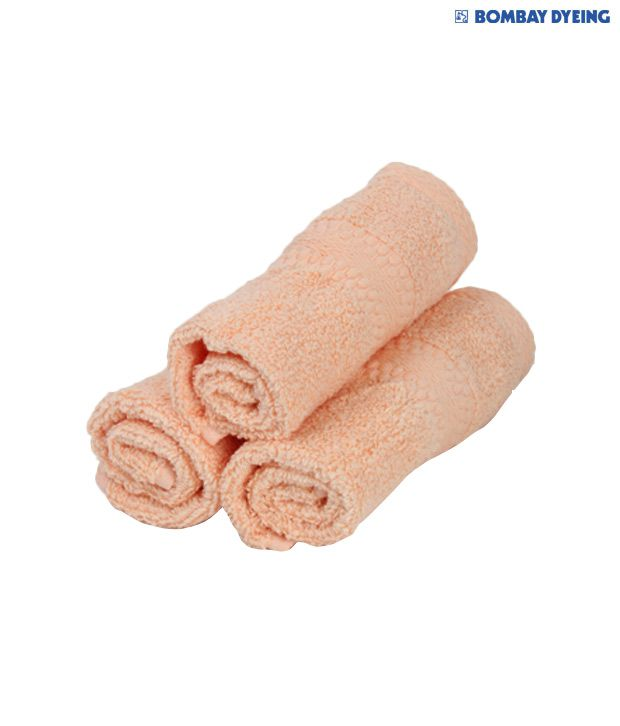 Bombay Dyeing Super Ultrax Peach Face Towel Set