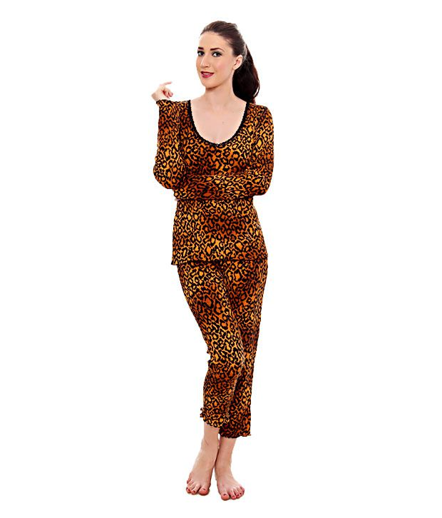 Kunchals Tiger Print Capri Set (N.W-1970TIGERPRINT)
