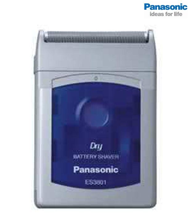 Panasonic ES 3801 Shaver Gray and Blue