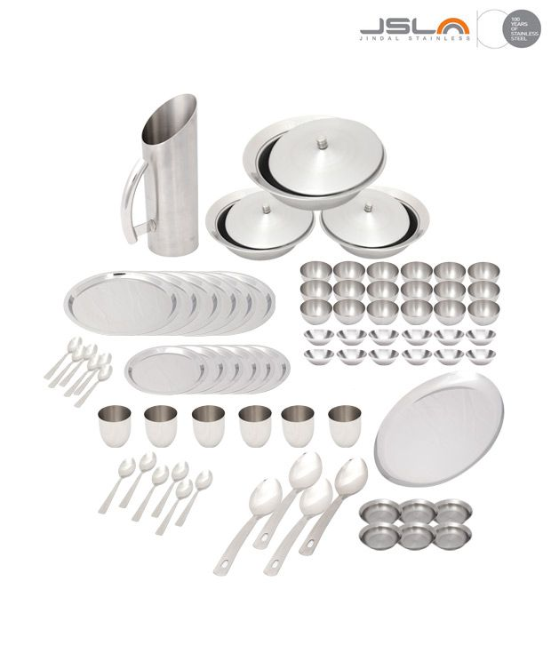 Krome Majestic Dinner Set of 78 pcs