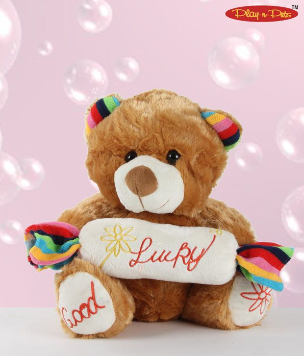 Play-n-Pets Exquisitely Designed Bear Soft Toy