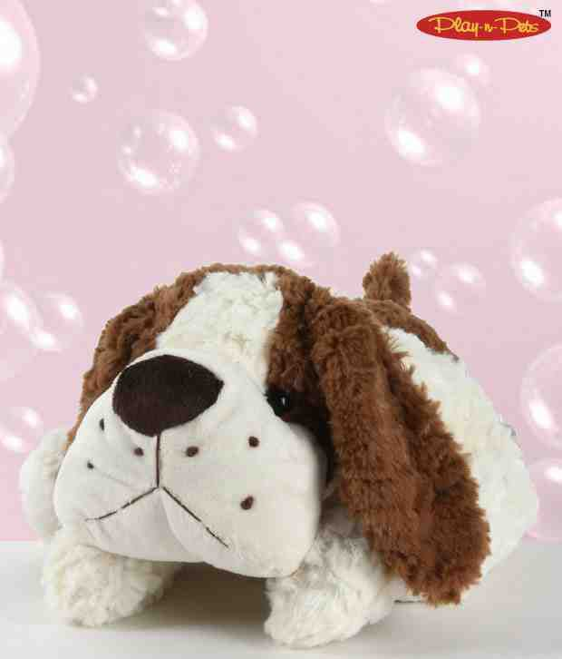 Play-n-Pets Floppy Dog Soft Toy