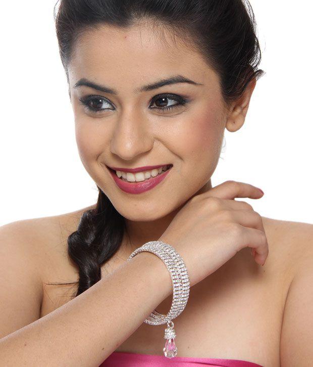 Pari Charming Silver Bangle