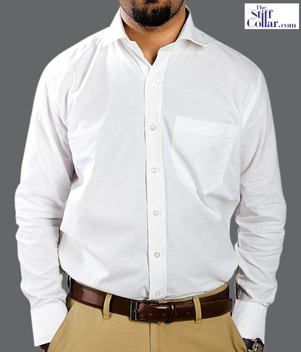 the stiff collar white oxford shirt buy the stiff collar