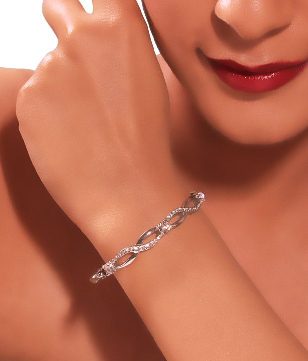 Kim's Stunning Silver Bracelet