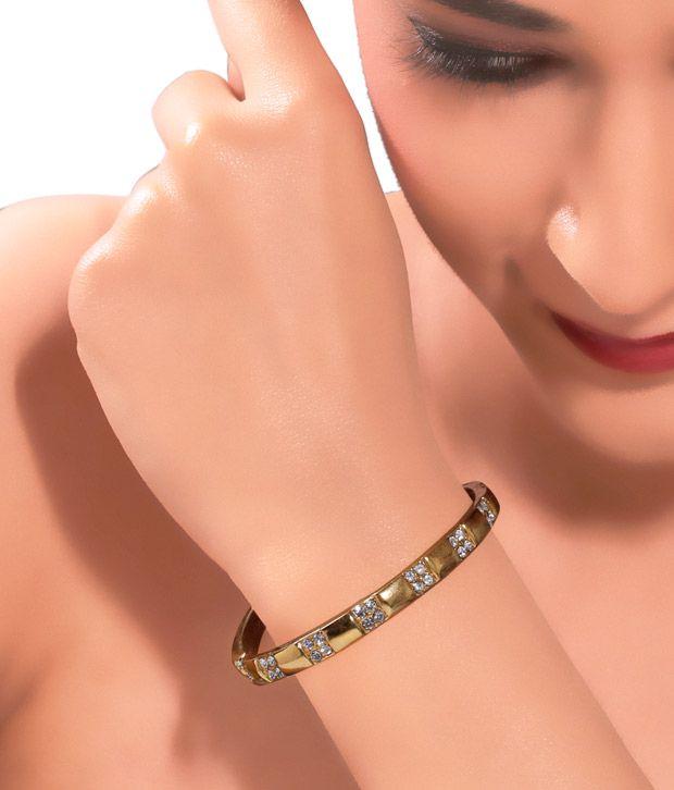 Kim's Gorgeous Golden Bracelet