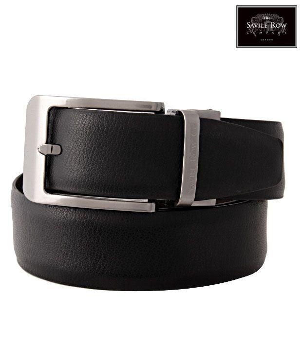 The Savile Row Fabulous Black & Brown Reversible Belt