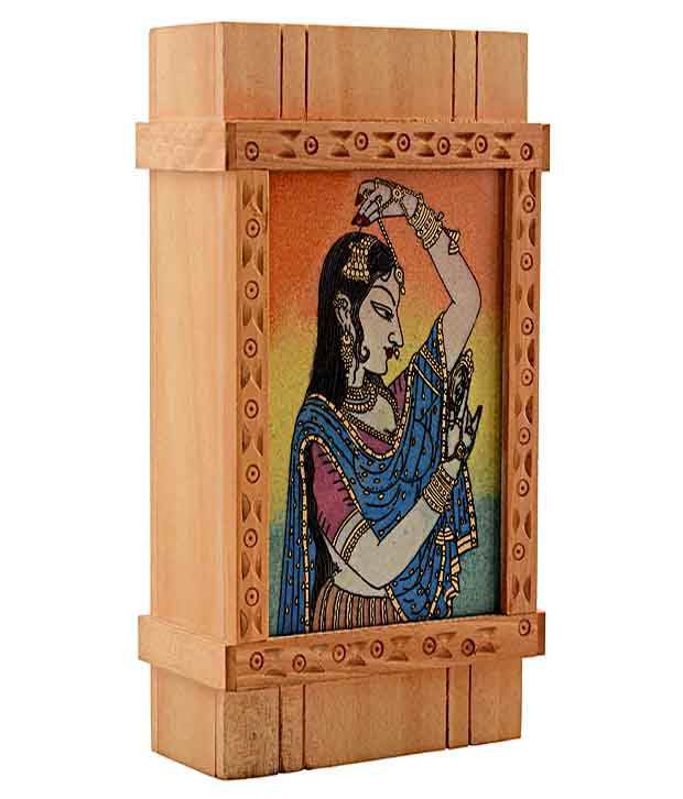 Rajrang Gemstone Painting Multi-Utility Box