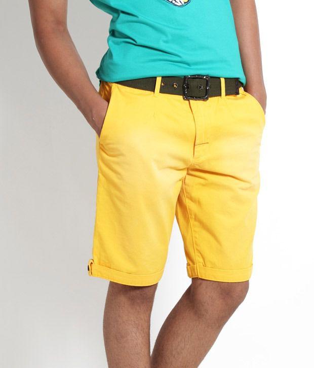 Probase Yellow Shorts