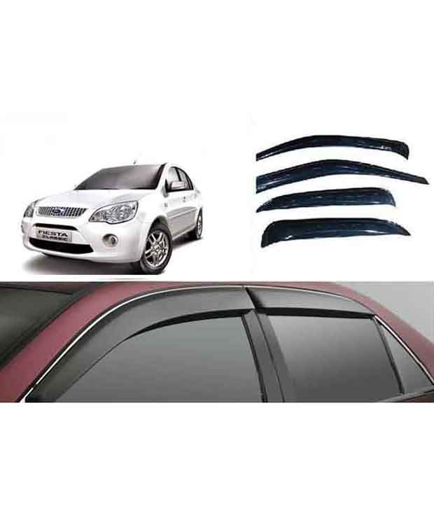auto pom ford old fiesta classic door visor on lowest price set rh snapdeal com