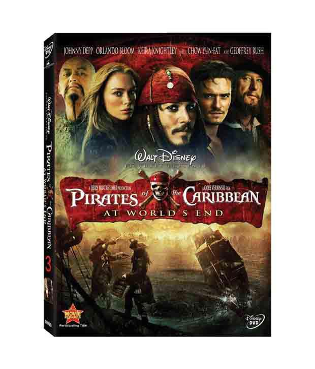 Pirates Of The Caribbean 3: At World'S End (English) DVD
