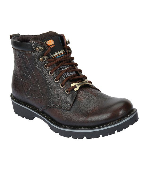 LOCARNO-D Men 13004 Brown Boots Ankle Boots