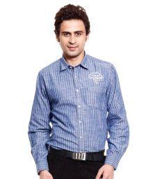 MSD Blue Striped Shirt