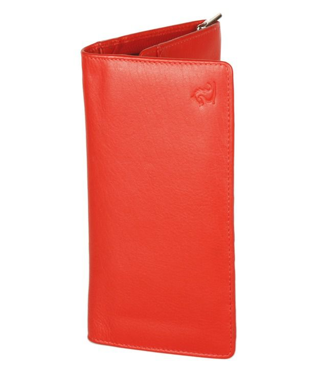 0334fe51f16 Kara Red Textured Ladies Wallet available at SnapDeal for Rs.647