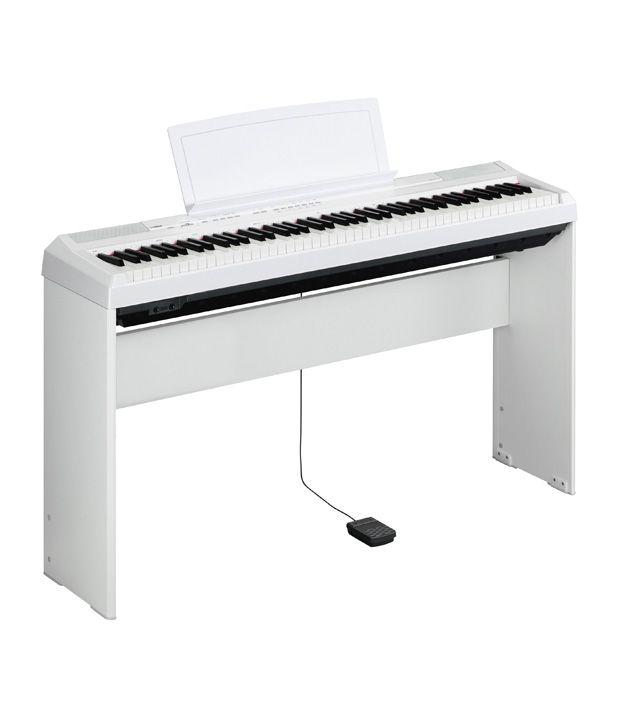 Yamaha digital piano p 105wh buy yamaha digital piano p for Yamaha keyboard india