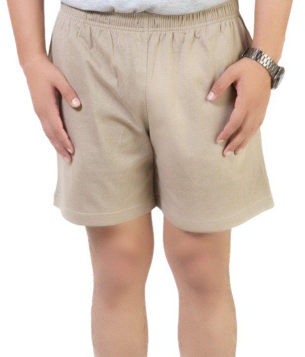 Cotson Smart Beige Shorts