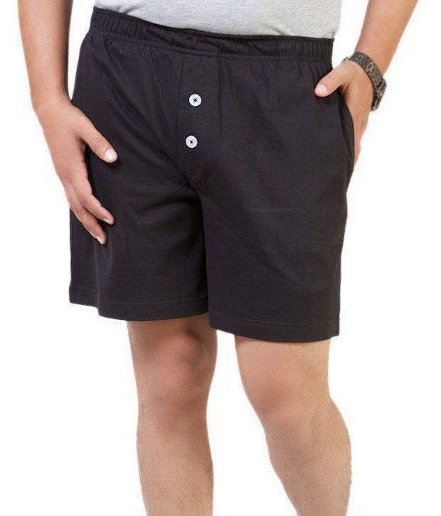 Monarch Cool Black Shorts