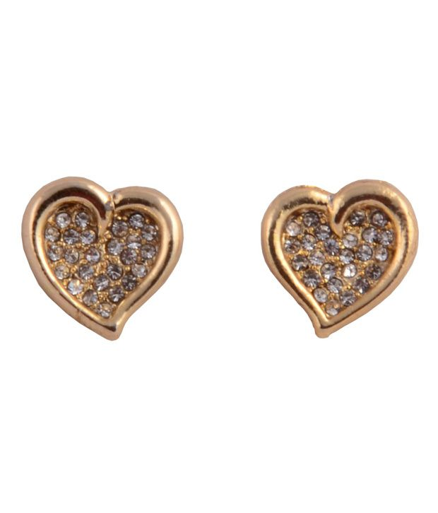 Touchstone Heart Shimmer Earrings