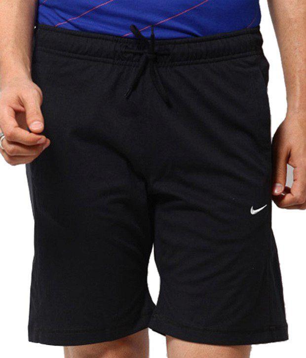 Nike As Df Cricket Cotton Short Black