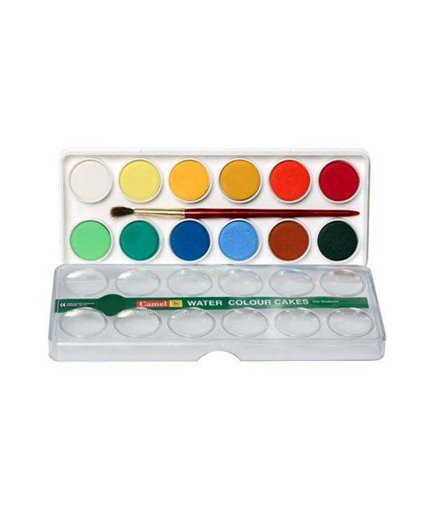 Camlin Students Water Colour Cakes Pack Of 3 Boxes 24