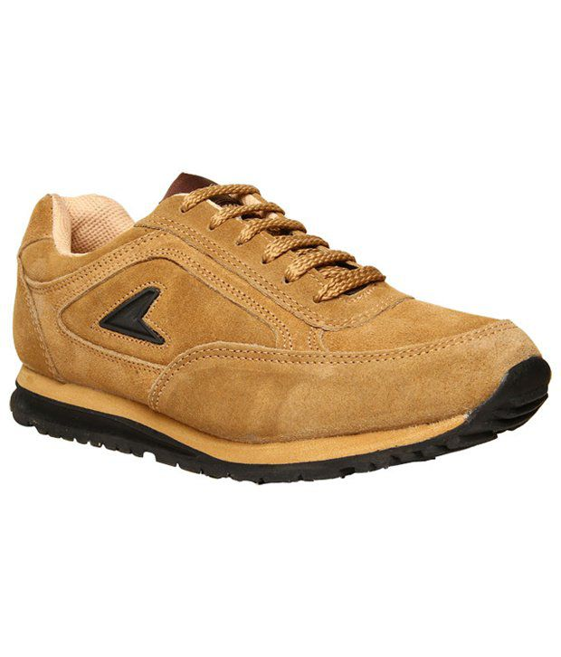 Power Camel Brown Sports Shoes ...