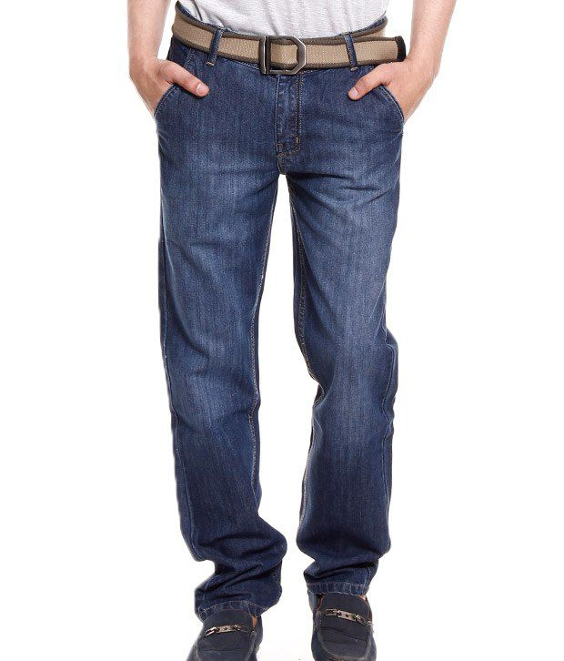 Fever Trendy Dark Blue Jeans