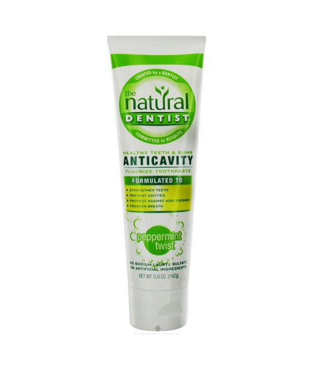 Natural Dentist Anticavity Toothpaste Review